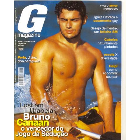 Revista G Magazine Bruno Canaan 109 Out 2006 Original