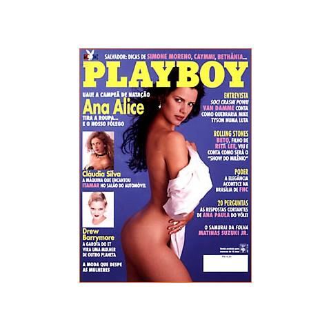 Revista Playboy Ana Alice 234 Jan 1995 Original