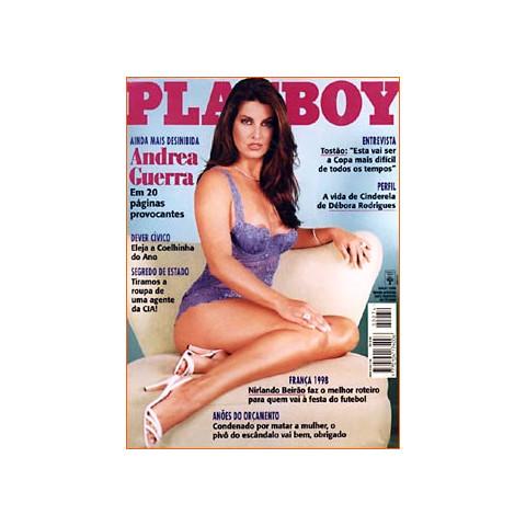 Revista Playboy Andrea Guerra 274 Mai 1998 Original