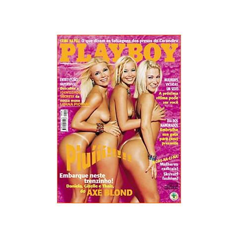 Revista Playboy Axé Blond 299 Jun 2000 Original