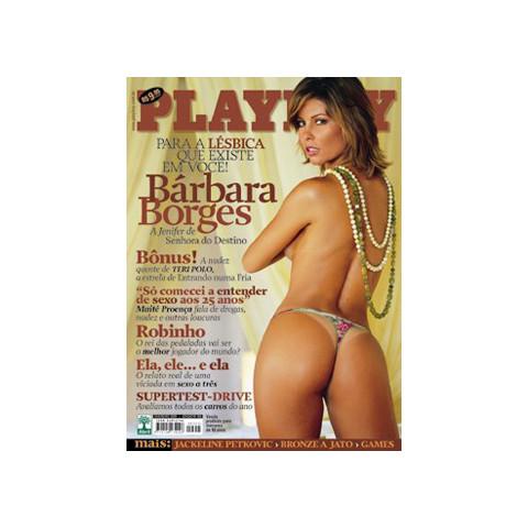 Revista Playboy Barbara Borges 355 Fev 2005 Original