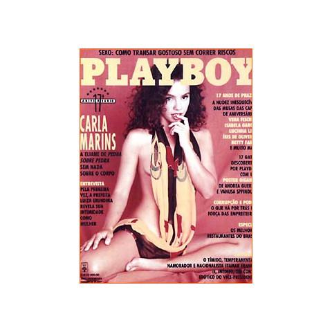Revista Playboy Carla Marins 205 Agos 1992 Original