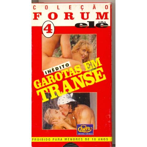 Vhs Coleção Forum Ele Ela Garotas em Transe Original