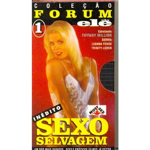 Vhs Coleção Forum Ele Ela Sexo Selvagem Original