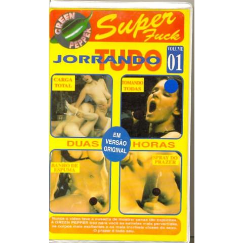 Vhs Jorrando Tudo Vol . 01 Super Fuck 1993 Original