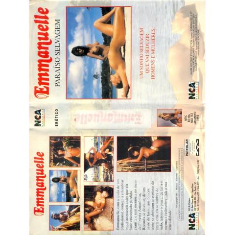 VHS Paraiso Selvagem NCA EMMANUELLE Original