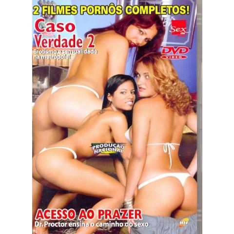 Dvd ***02 FILMES Caso Verdade 2 Sex Sites & Acesso ao Prazer INT Original