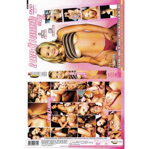 Dvd 2 Gatas x 1 Garanhão 3 Planet Sex Original (USADO)