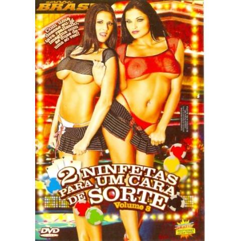 Dvd 2 Ninfetas para um Cara de Sorte 3 Sexxxy Original