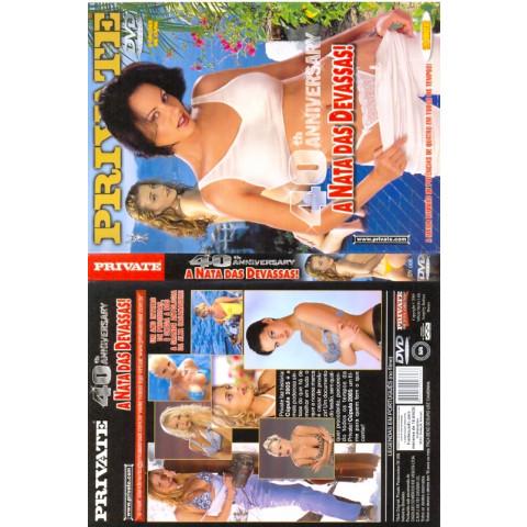 Dvd 40 Th Anniversary A Nata das Devassas Private 2005 Original