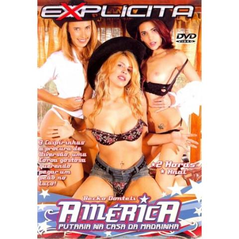 Dvd America Putaria na Casa da Madrinha Explicita Original