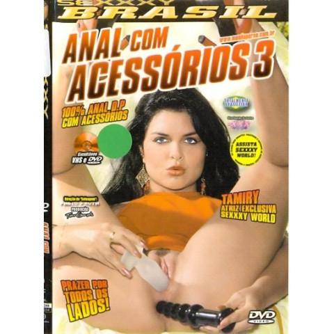 Dvd Anal com Acessórios 3  Sexxxy Original