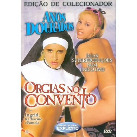 *Dvd Anos Dourados & Orgias no Convento Edição de Colecionador Original