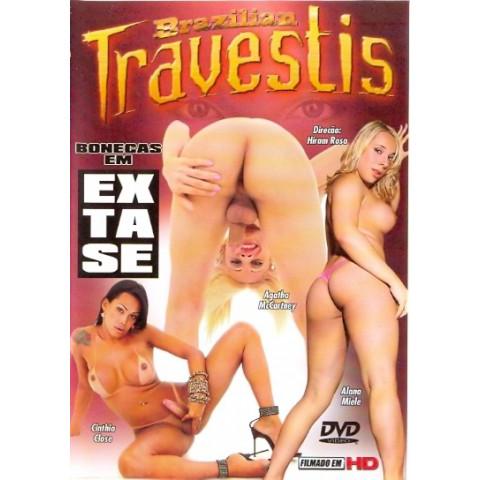 Dvd Bonecas em Extase Brazilian Travestis Original*