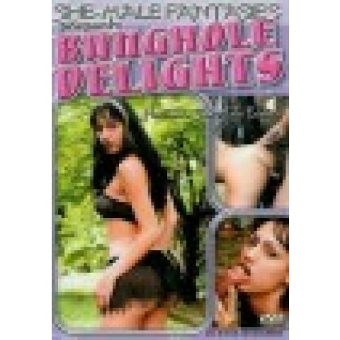 Dvd Bunghole Delights She-Males Fantasias Travestis Importado Original*