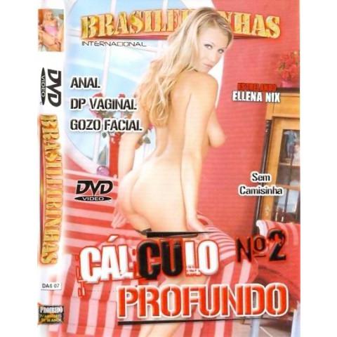 Dvd Calculo Profundo 2 Brasileirinhas Vanessa Sey Original