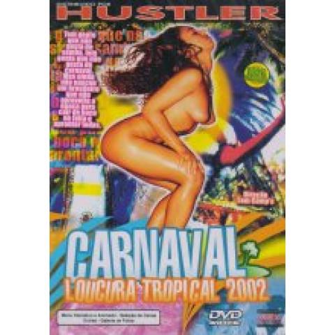 Dvd Carnaval Loucura Tropical 2002 Hustler Original