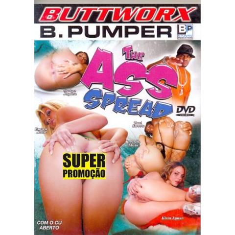 Dvd Com o Cu Aberto Buttworx Original (USADO)