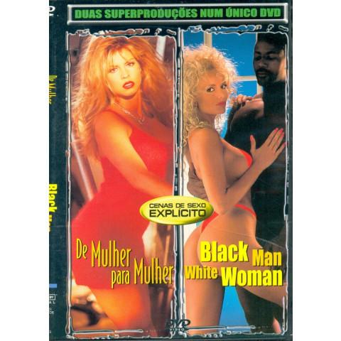 *Dvd De Mulher para Mulher & Black Man White Woman Original