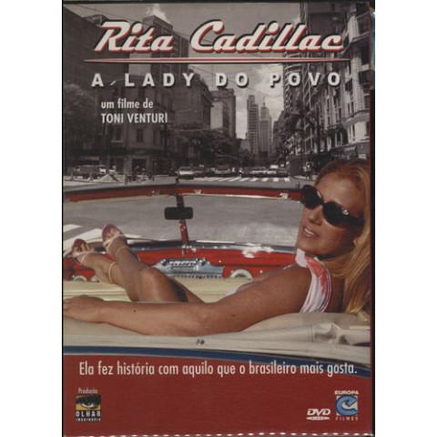 Dvd Documentário Rita Cadillac - A Lady Do Povo Original