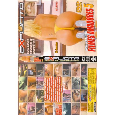 Dvd Filmes Amadores 5 Explicita Original