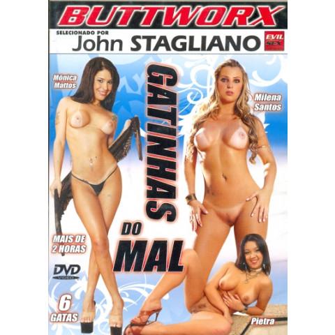 Dvd Gatinhas do Mal Buttworx Monica Mattos Original (USADO)