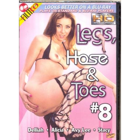 Dvd Legs Hose & Toes 8 Fetishe Pezinhos Filmco All Regions Original