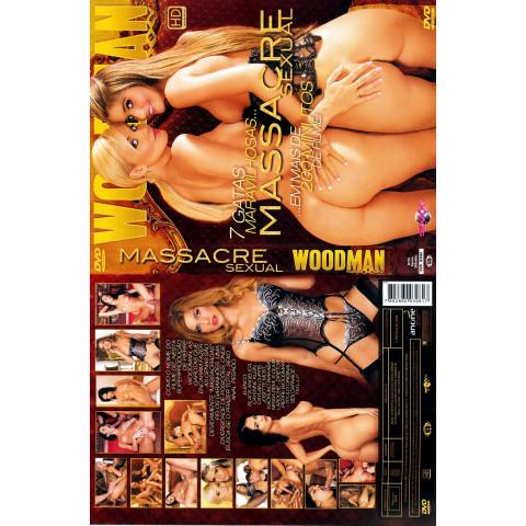 Dvd Massacre Sexual Woodman Original