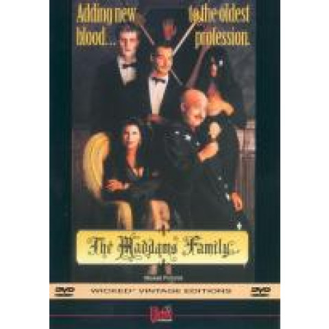 Dvd Parodia The Maddams Family All Regions 1991 Original