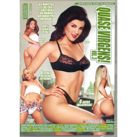 Dvd Quase Virgens 3 Planet Sex Breakin em Im 3 Original (USADO)