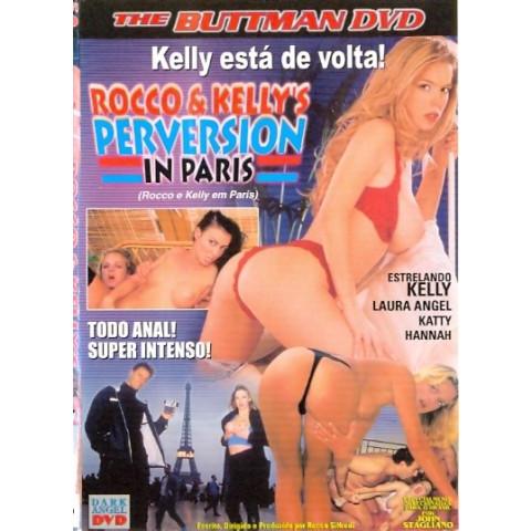 Dvd Rocco e Kelly em Paris Buttman 2003 Original
