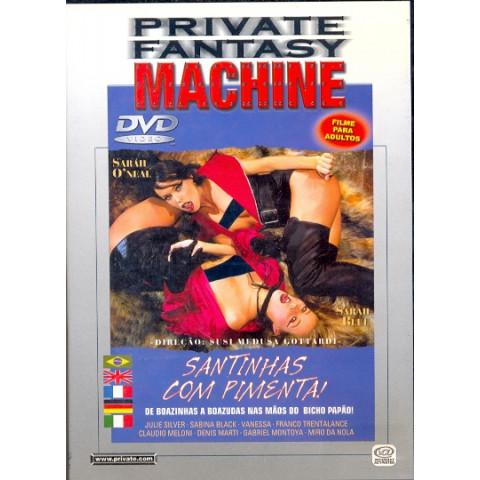 Dvd Santinhas com Pimenta Private Original
