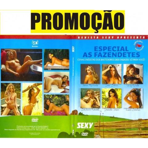 Dvd Sexy Especial As Fazendetes Joana Machado e Dani Bolina Original