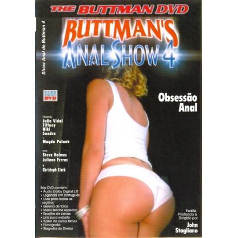 Dvd Show Anal de Buttman 4 2003 Original