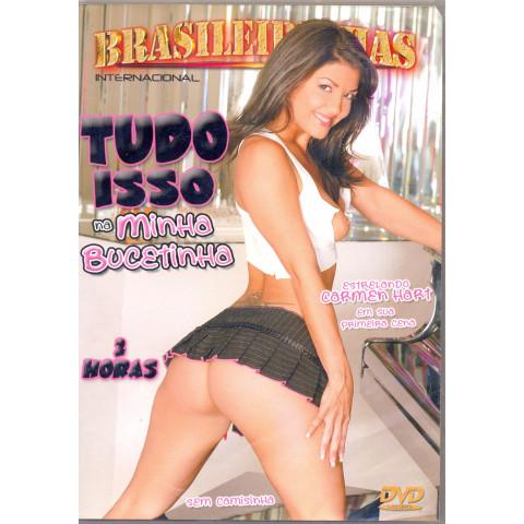 Dvd Tudo Isso na Minha Bucetinha Brasileirinhas Carmen Hart Original