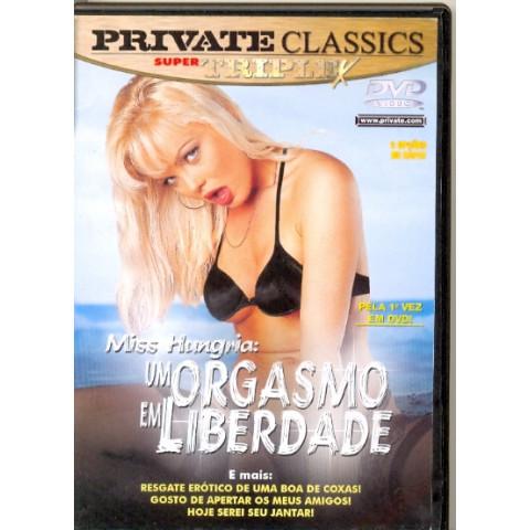 Dvd Um Orgasmo em Liberdade Private Miss Hungria Original