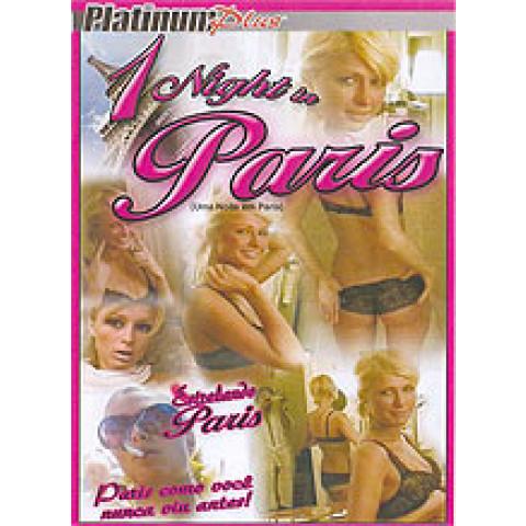 Dvd Uma Noite Em Paris Platinum ***Paris Hilton*** Original