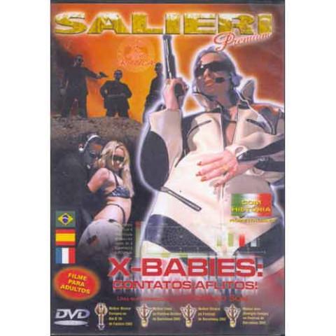 Dvd X-Babies: Contatos Aflitos Salieri Original