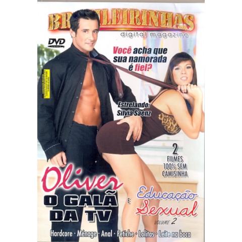 Dvd  OLIVER O GALÃ DA TV & Educação Sexual 2 Original