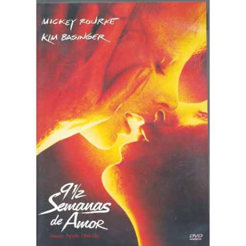 Dvd  9 1/2 Semanas de Amor Mick Rourke & Kim Original