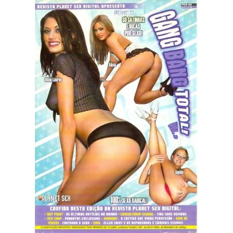 Dvd Gang Bang 2 Planet Sex  Original (USADO)
