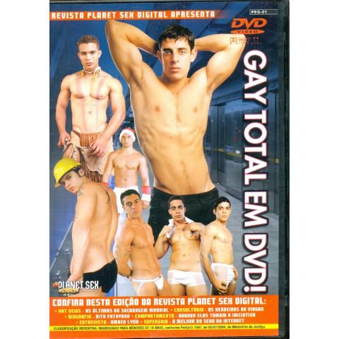 PROMOÇÃO - Dvd Gay Total Planet Sex Homens Original