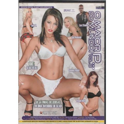 Dvd O Maior P do Mundo 8 Planet Sex Original (USADO)