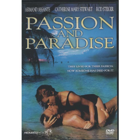 Dvd Passion Paradise REGION 1 S/ AUDIO S/ LEGENDAS IMP Original