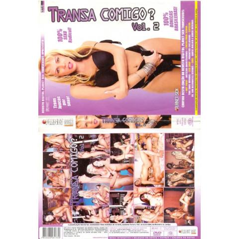 Dvd Transa Comigo  2 Travestis Planet Sex Tele Sexo Original (USADO)*