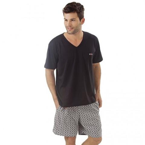 PROMOÇÃO - Pijama Masculino Short PLUS SIZE