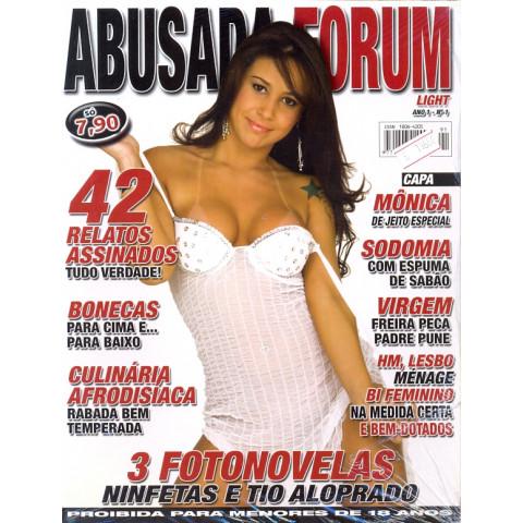 Revista Abusada FORUM *MONICA MATTOS Nº.1  Ano 1*