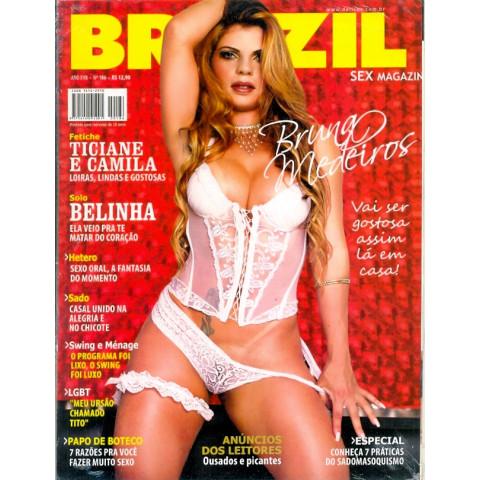 Revista Brazil Bruna Medeiros Nº.186  Ano XVII  Original*