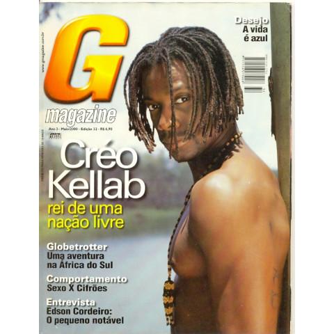 Revista G Magazine Creo Kellab 32 Mai 2000 Original*