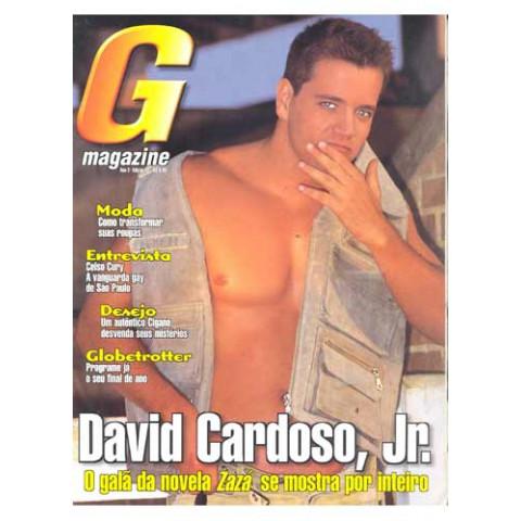 Revista G Magazine  David Cardoso Jr  Ano 2 - N°.13 Original*